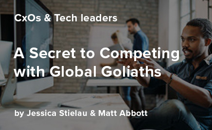 A secret to competing with global goliaths