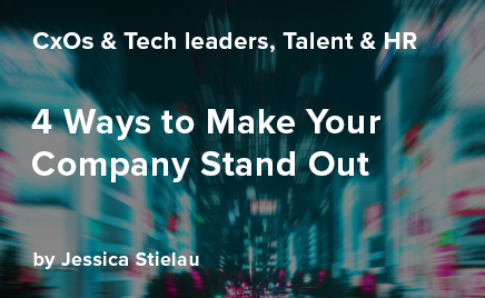 Four Ways to Make Your Company Stand Out
