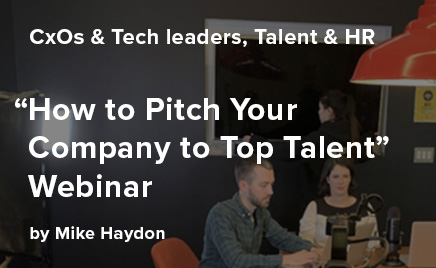 How to Pitch Your Company to Top Talent