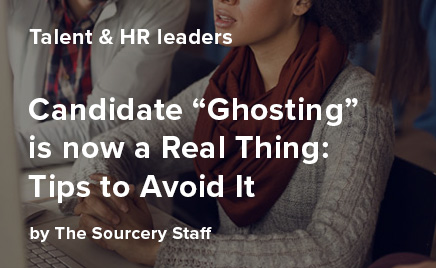 Candidate 'ghosting' is now a real thing