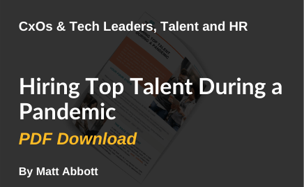Hiring top talent during a pandemic