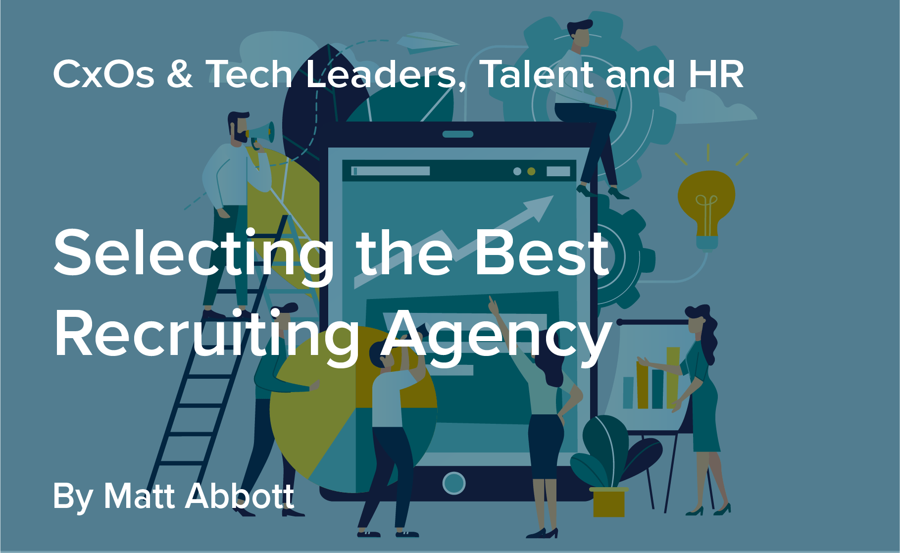 Selecting the best recruiting agency